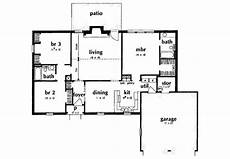 house plans 1400 square feet ranch style house plan 3 beds 2 baths 1400 sq ft plan
