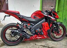 Modifikasi All New Vixion 2018 by Modifikasi Yamaha All New Vixion Fairing Merah