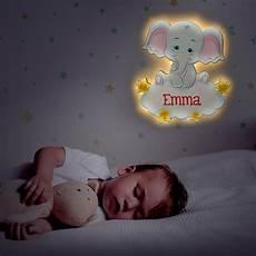 nachtlicht kinder nachtlicht f 252 r kinder elefant farbdruck