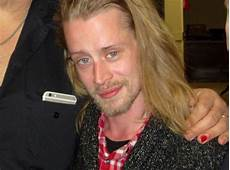 macaulay culkin looks nearly unrecognizable on the set of