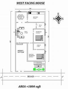 west facing house plans per vastu 30 x60 marvelous 2bhk west facing house plan as per vastu