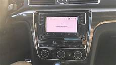 Android Auto Demo In The 2016 Vw Passat