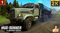 spintires mudrunner gameplay обзор мода краз 258