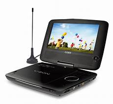 china 9 portable dvd cd mp3 player with tv tuner swivel