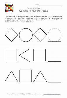 patterns worksheets for nursery 181 kindergarten pattern worksheets easy preschool patterns worksheet 1 black and white