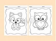 baby woodland animals coloring pages 17514 woodland forest animals coloring pages 8 designs fox included