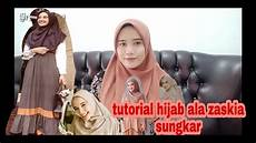 Tutorial Simple Ala Zaskia Sungkar Tutorialhijab