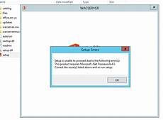 unable to install office 2013 cannot install office web apps 2013 on windows server