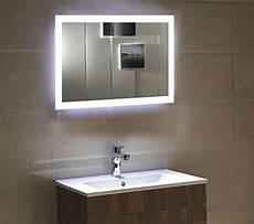 dr fleischmann badspiegel led spiegel gs084n mit