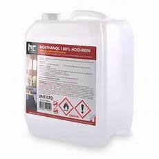 Bio Ethanol 100 - 5 l bioethanol 100 geruchsfreie verbrennung h 246 fer chemie