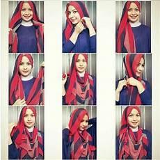 Cara Memakai Jilbab Modern Syar I Tutorial Cara