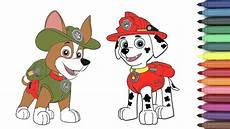 paw patrol marshall tracker coloring page for