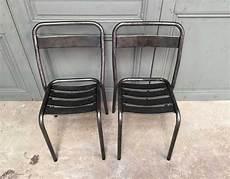ensemble 10 chaises bistrot tolix t1