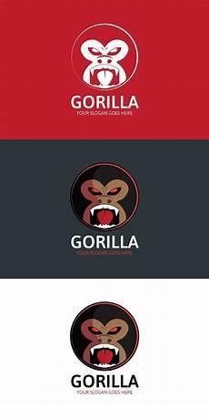gorilla logo logos design gorilla