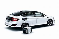 Honda Clarity Fuel Cell Sedan Now Available In Japan