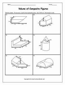volume of composite figures worksheet by funsheets4math tpt