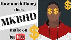 how much money does mkbhd make from youtube youtube