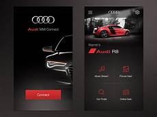 Audi Mmi Connect App Ui By Warren Lebovics Dribbble
