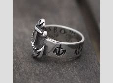 Buy a Handmade First Mate Nautical Anchor Sterling Silver