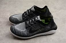 nike free run flyknit 2018 white black s running shoes