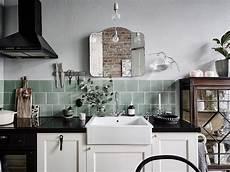 crush le carrelage vert cuisine intemporelle cuisines