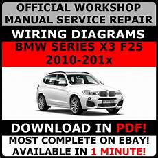 car repair manual download 2010 bmw 1 series windshield wipe control official workshop repair manual for bmw series x3 f25 2010 2017 wiring 5010960641255 ebay