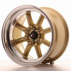 japan racing wheels jr 19 gold 16x9 zoll japan