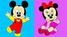 disney s baby mickey minnie mouse coloring for children
