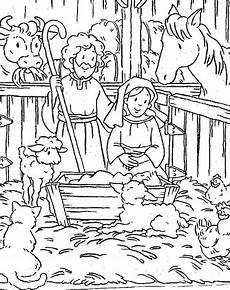 bible animals coloring pages 16909 animals gather in stable where jesus was born bible story coloring pages animals