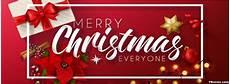 merry christmas everyone facebook cover photo fbcover com
