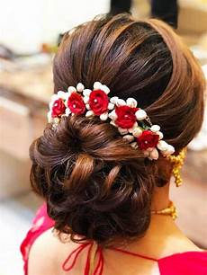 bun type hairstyles simple hair buns for sarees lehengas to style up your looks