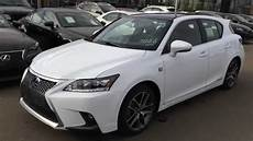 2015 lexus ct 200h hybrid f sport navigation package review youtube