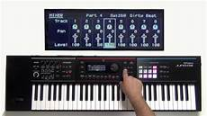 Roland Juno Ds How To Create A Pattern Sequence