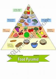 food pyramid worksheet esl worksheet by kopciuszek