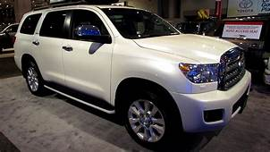2013 Toyota Sequoia Platinum  Exterior And Interior