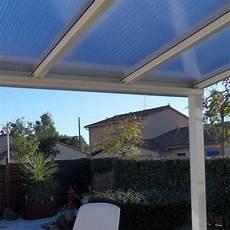 plaque polycarbonate pour pergola pergola toit polycarbonate ou thermotop 174 sur mesure en