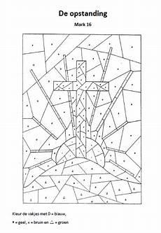 Ausmalbilder Ostern Religion De Opstanding Sonntagsschule Basteln Bibel Malvorlagen