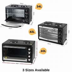 portable convection oven electric rotisserie benchtop