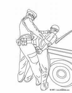 Ausmalbilder Polizei Swat Officer Coloring Pages