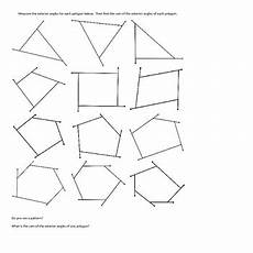 exterior angles of a polygon geometry activity finding the sum