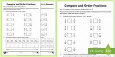 fraction worksheets year 6 uk 4133 year 6 order fractions worksheet activity sheet key stage 2
