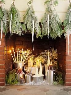 Deko Ideen Garten Im Winter Tannenzapfen Silber Boistooffu