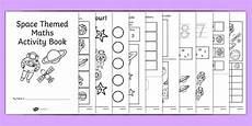 space themed ks1 maths activity book numeracy activities math