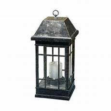 smart solar san rafael estate mission solar candle lantern 3900kr1 the home depot