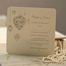 Personalised Wedding Invitations personalised hearts wedding invitations by beautiful day