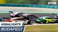 Highlights Race 1 Dtm Budapest 2017
