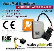 passenger seat occupancy sensor emulator w203 w209 mercedes c clk 2005 07 ebay