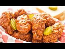 Nashville Fried Chicken Wings Recipe