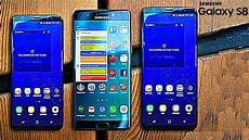 Galaxy S8 And S8 Plus Vs Note7 Vs S7 Edge Size