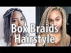 40 box braids hairstyles for women youtube